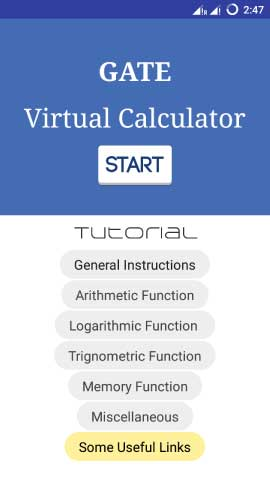 GATE Calculator Offline App