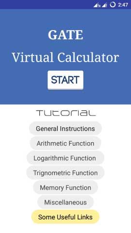 GATE Calculator Offline App