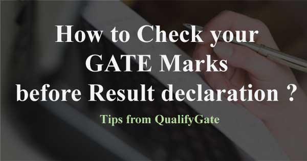 how-to-check-gate-marks-before-result-declaration