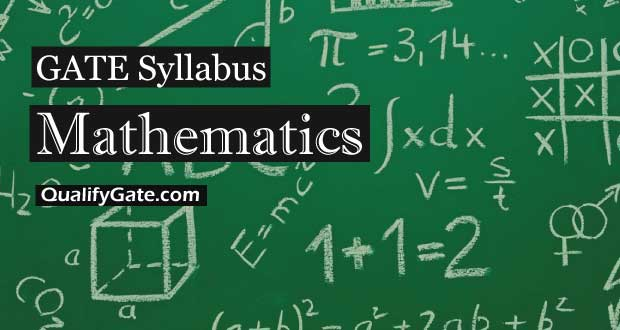 GATE 2018 Syllabus for Mathematics