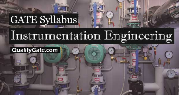 GATE 2018 Syllabus for Instrumentation Engineering