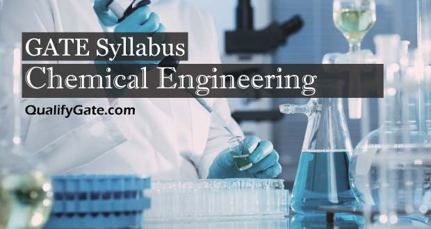 GATE 2018 Syllabus for Chemical Engineering