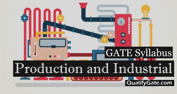 GATE 2018 Syllabus for Production and Industrial Engineering