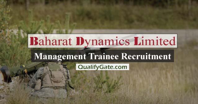 BDL Management Trainee Recruitment 2017